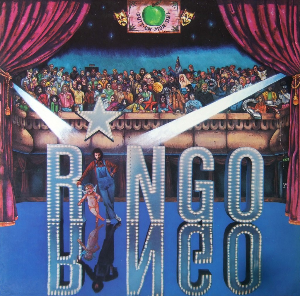 Ringo is the first traditional rock-pop solo album from Ringo Starr, and was released in 1973 (Starr had recorded an album of tin pan alley standards and a country album prior to this release).