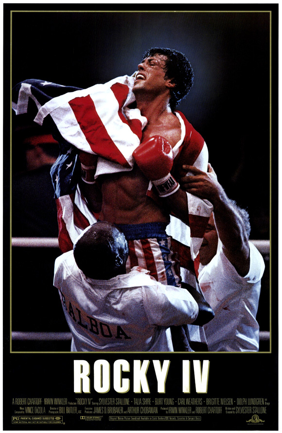 Rocky IV was released in 1985. Despite its ridiculous and over-the-top plot and premise, it is the franchise's highest grossing film.