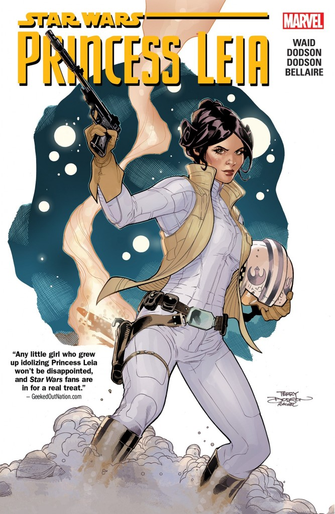 Princess Leia ran for five issues as a mini-series. It has since been collected in a trade paperback.
