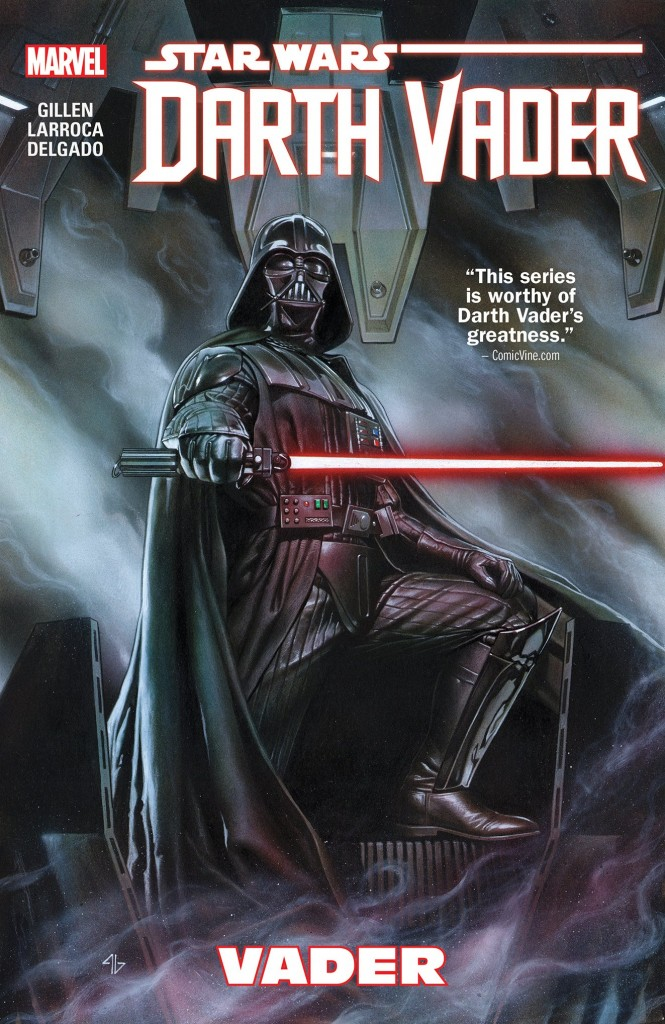 """Vader"" is the first story arc of the Darth Vader comic series."