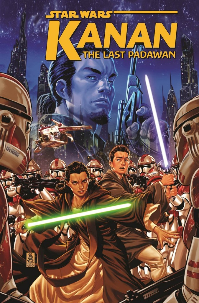 "Kanan is an ongoing series. The first story arc, ""The Last Padawan,"" follows Kanan Jarrus as a youth in training as a Jedi, who must flee and fight for his life when the Empire declares Order 66."