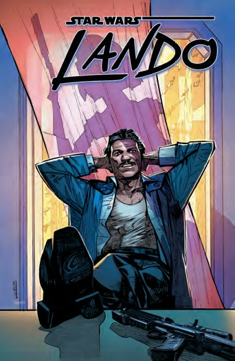 Lando was a five-issue mini series. The trade paperback will be released in early 2016.