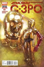 C-3PO will be a one-shot comic following the eponymous droid, and tell of how he got the red arm he was seen with in The Force Awakens.