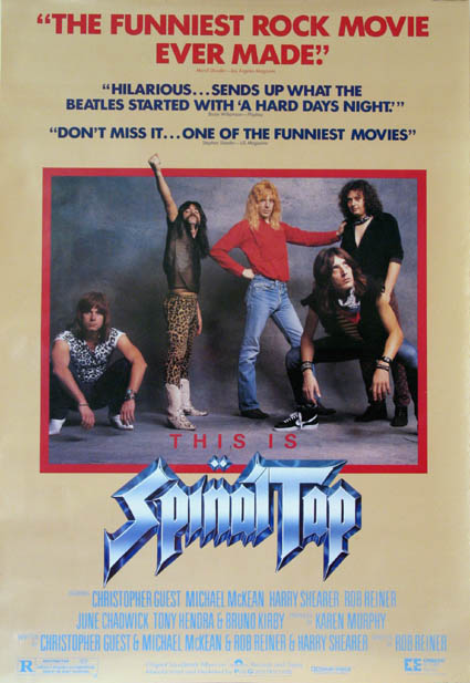 This is Spinal Tap hit theaters in 1984, but did not become a big hit until later, on home video.