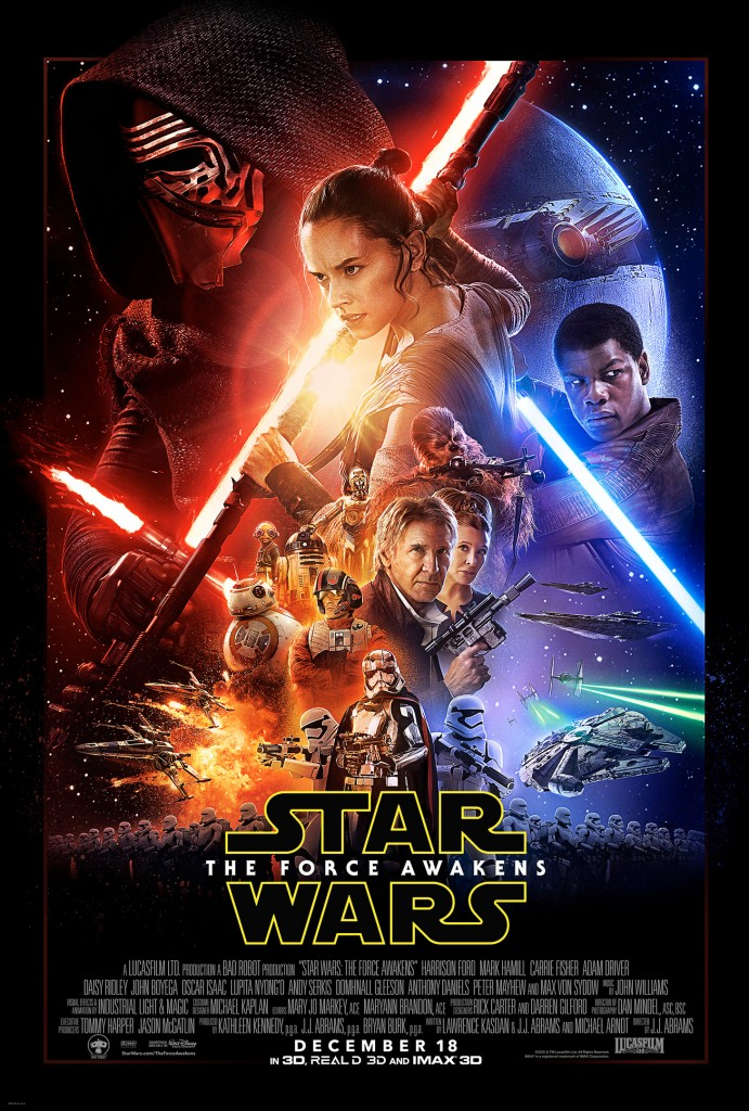 Star Wars Episode VII: The Force Awakens is the seventh live-action theatrical film in the long running franchise.