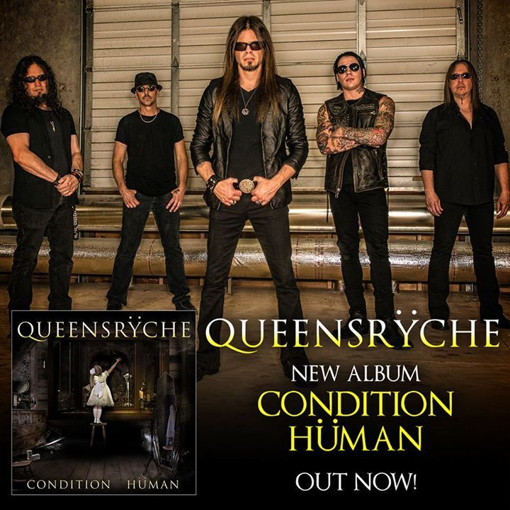 Condition Human, released in late 2015, is the second Queensryche album to feature former Crimson Glory vocalist Todd La Torre. This tour is in promotion of Condition Human.
