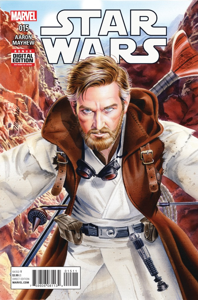 Star Wars 15 is the second comic in the ongoing comic series to depict Obi-Wan Kenobi's life in Tatooine between the Prequel and Classic Trilogies.