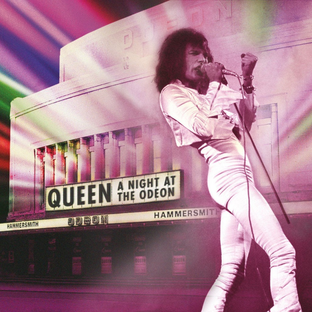 A Night at the Odeon is a live CD release from Queen, capturing the band in December of 1975, in the wake of the release of their now classic A Night at the Opera record. Eagle Rock has also released the show on DVD and SD-Blu-ray Disc.