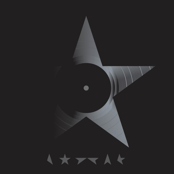Blackstar is David Bowie's 25th studio album. It was released in January 8, 2016, which is Bowie's 69th birthday. The white cover at the top of the page is the traditional release, whereas this black cover is for the vinyl release.