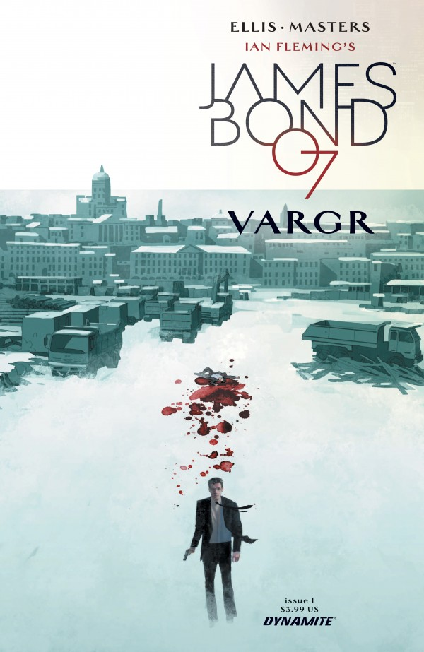 The standard cover of VARGR 1 (of 6). A number of variant covers (not pictured) have also been released.