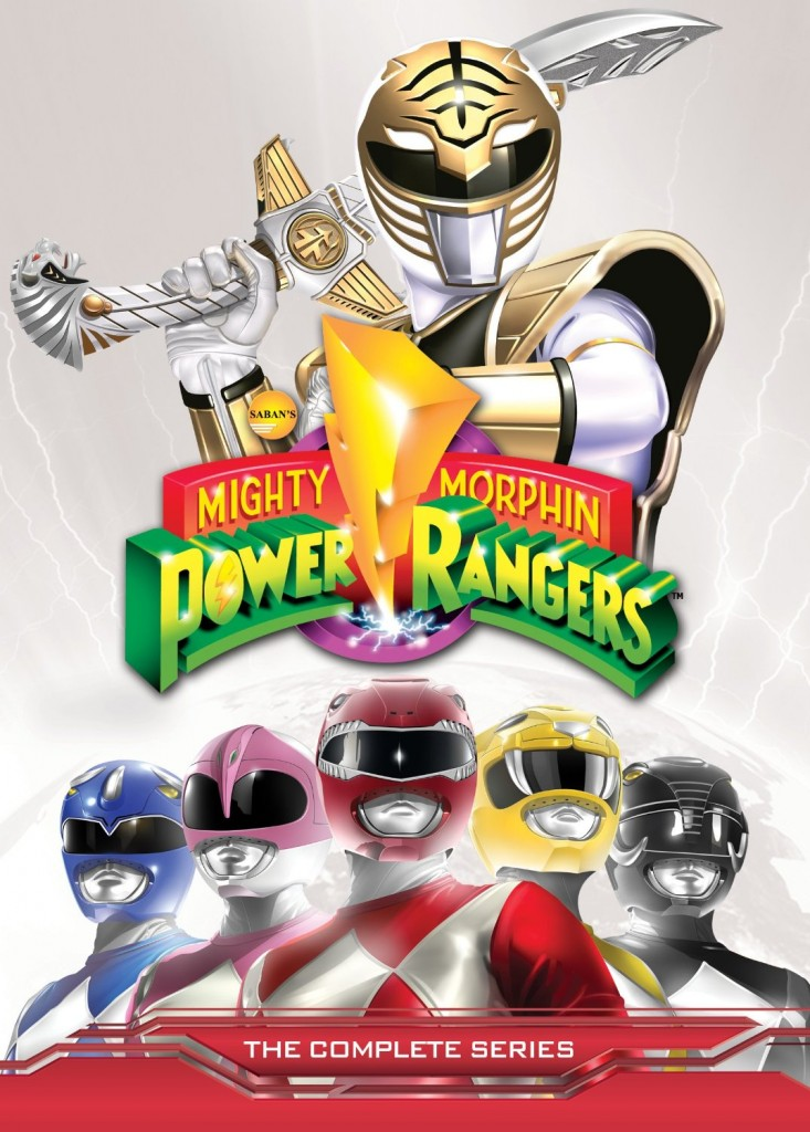The complete series of the Mighty Morphin series, comprising the first three seasons, is now available on DVD from Shout! Factory.