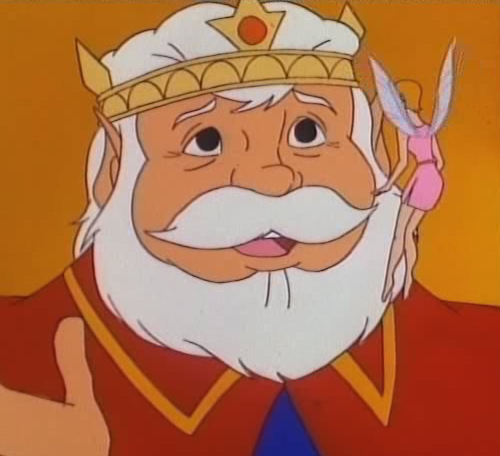 King Harkinian is one of the characters made up for the show.