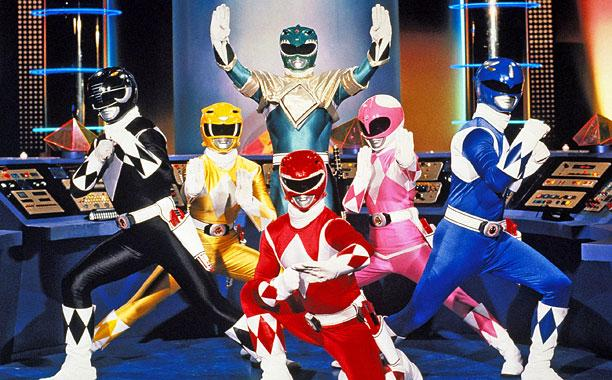 The Mighty Morphin Power Rangers start off as a five-person team, but eventually expand to six with the addition of the Green Ranger.