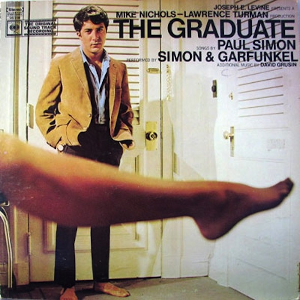 The film's classic Simon and Garfunkel soundtrack is one of its greatest assets.