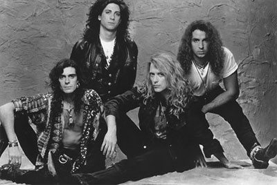 Promotional photo of the band's first lineup.