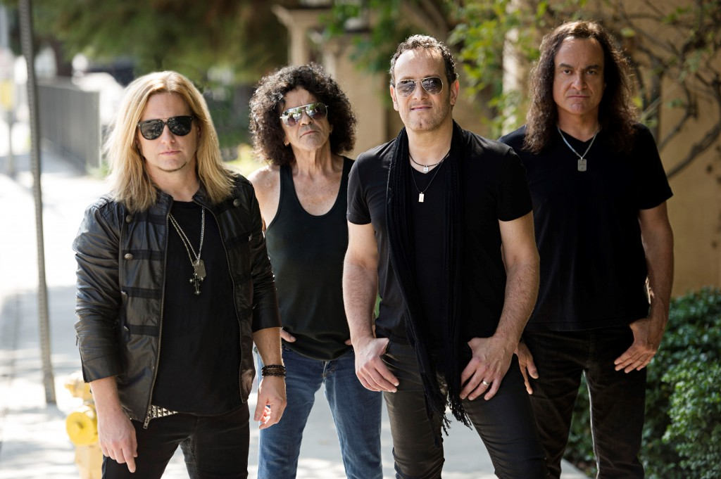 Last in Line (from left to right) - Andrew Freeman, Jimmy Bain, Vivian Campbell, and Vinny Appice.