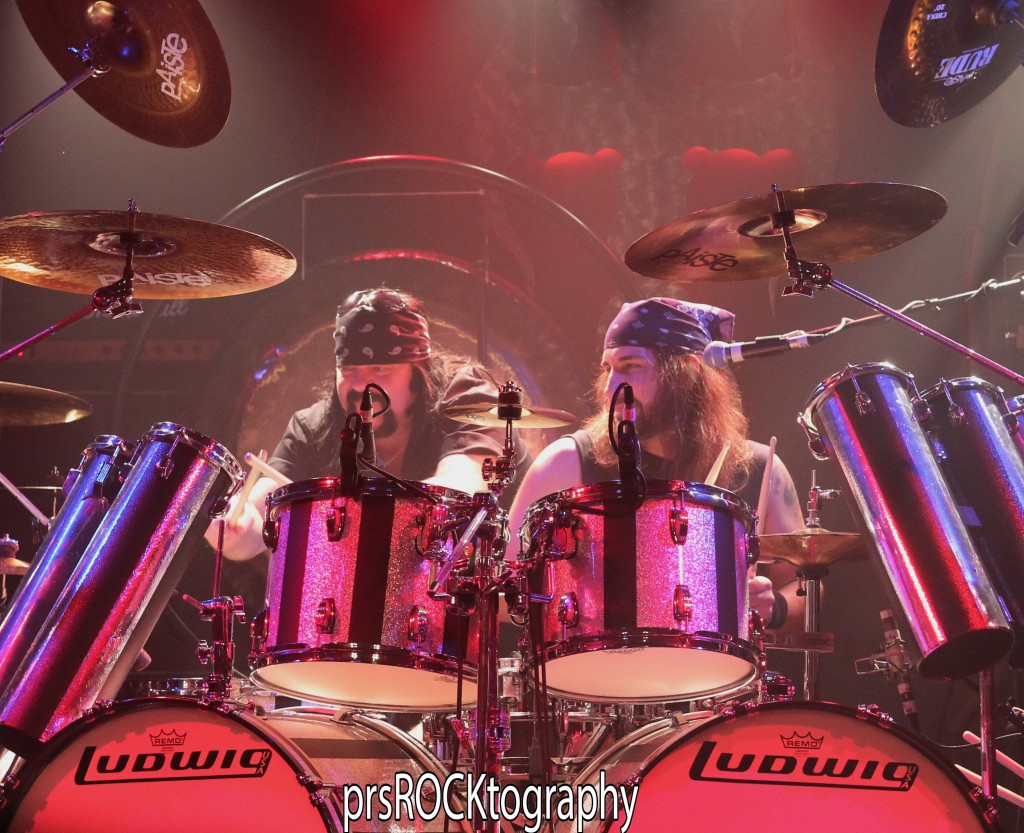 Drum action from Brian Tichy and special guest Vinnie Paul!