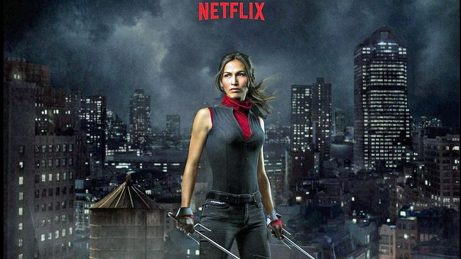 Elektra, Daredevil's old flame, makes her first appearance in this season.