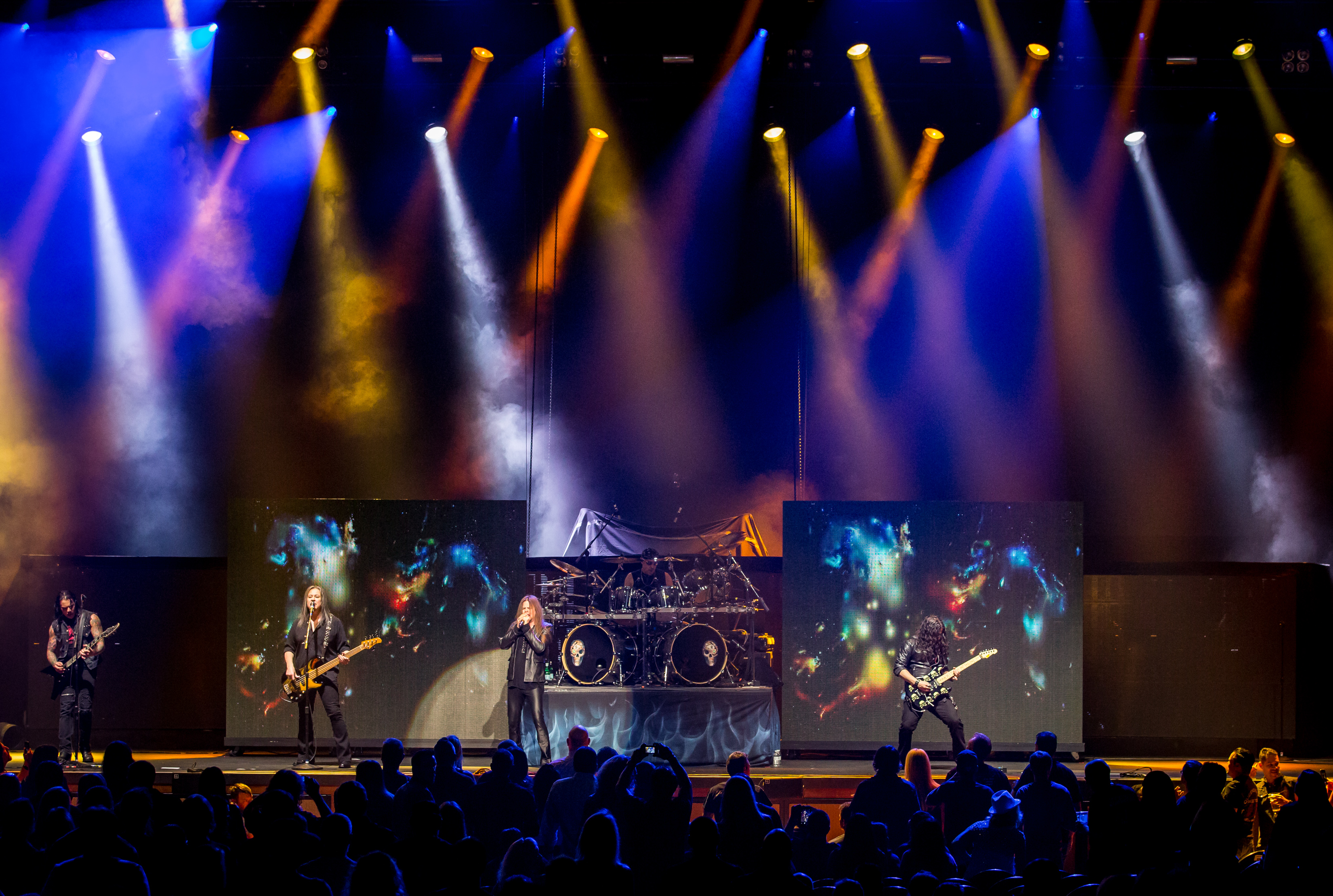 Queensryche on stage at The Joint- photo credit: © Erik Kabik/Kabik Photo Group