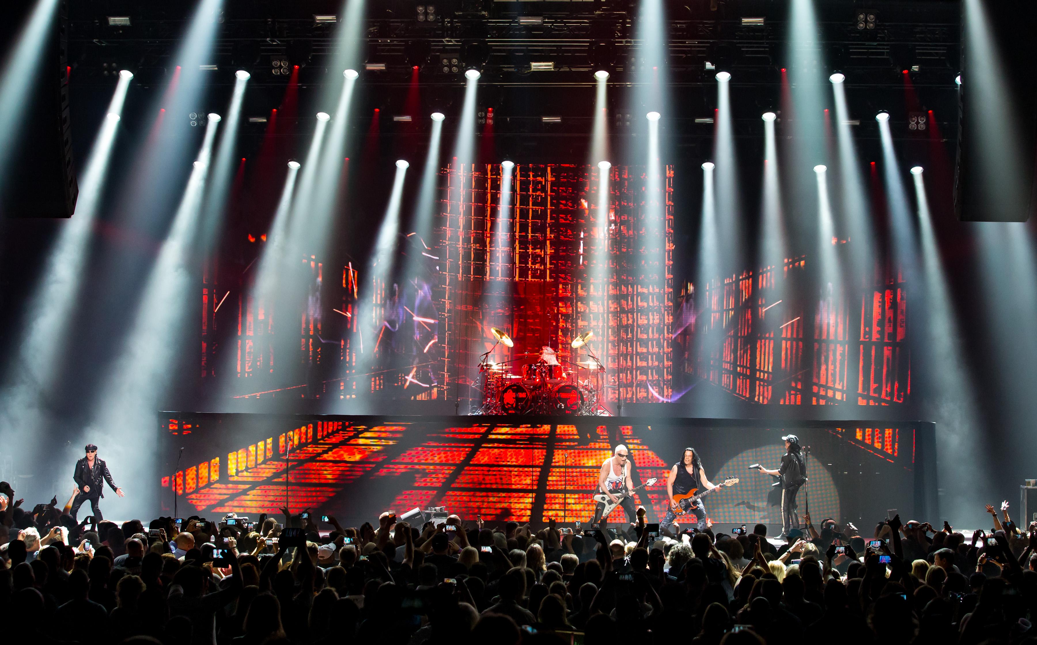 Scorpions taking the stage at The Joint photo credit: © Erik Kabik/Kabik Photo Group
