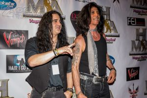 Nadir D'Priest and Dominick Muzio of the Sunset Strip's legendary band LONDON were in attendance.