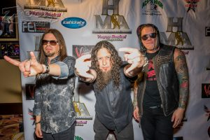 Queensryche were there ( \m/ Michael! )