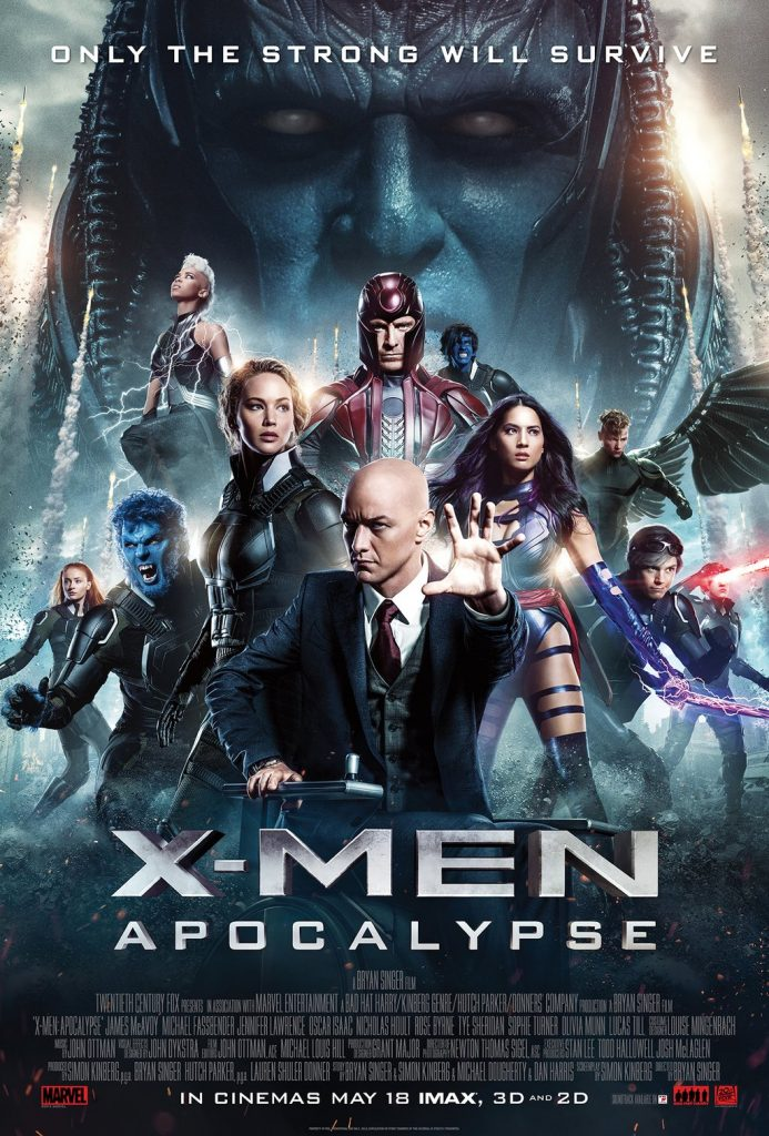X-Men Apocalypse is the ninth film in the X-Men film series, based on the legendary Marvel comic.