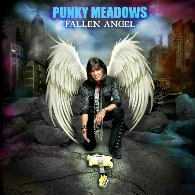 Punky Meadows returns to the music world with Fallen Angel, his solo album.
