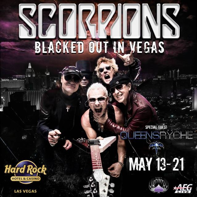 Scorpions came to Vegas with special guest Queensryche, becoming the latest classic hard rock band to have a residency at the Joint.