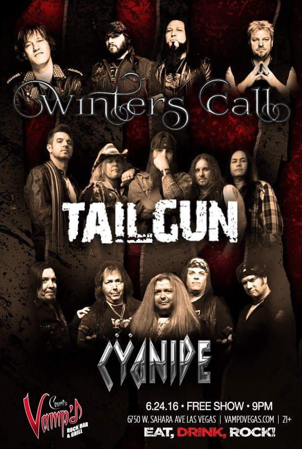 Winter's Call, TailGun and Cyanide