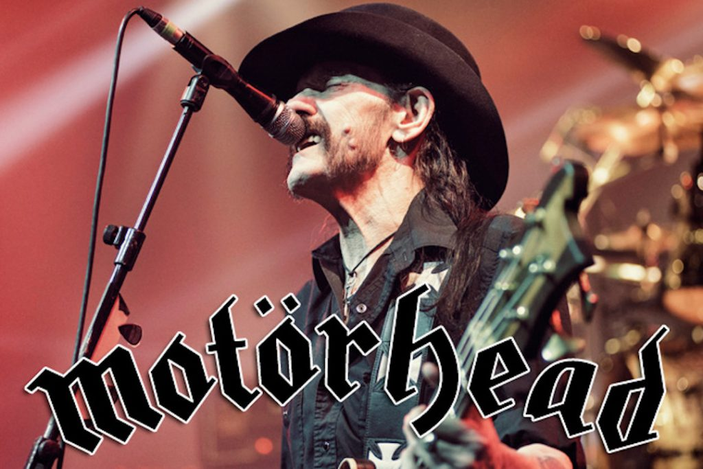 Motorhead is featured here a mere month prior to Lemmy's passing in December 2016.