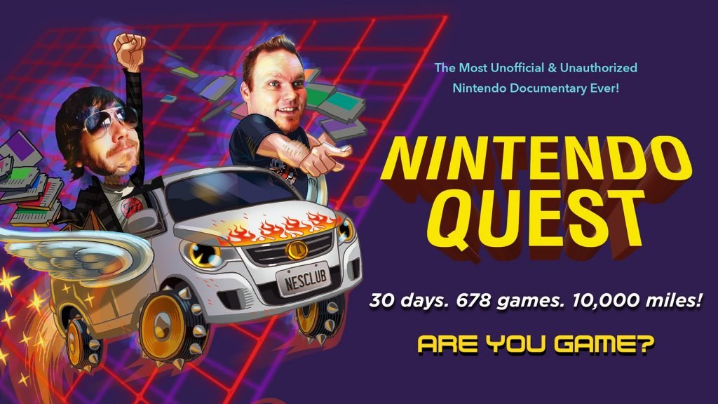 This is the follow-up to the Nintendo Quest documentary, featuring its creators taking the show on the road to premiere in multiple cities.
