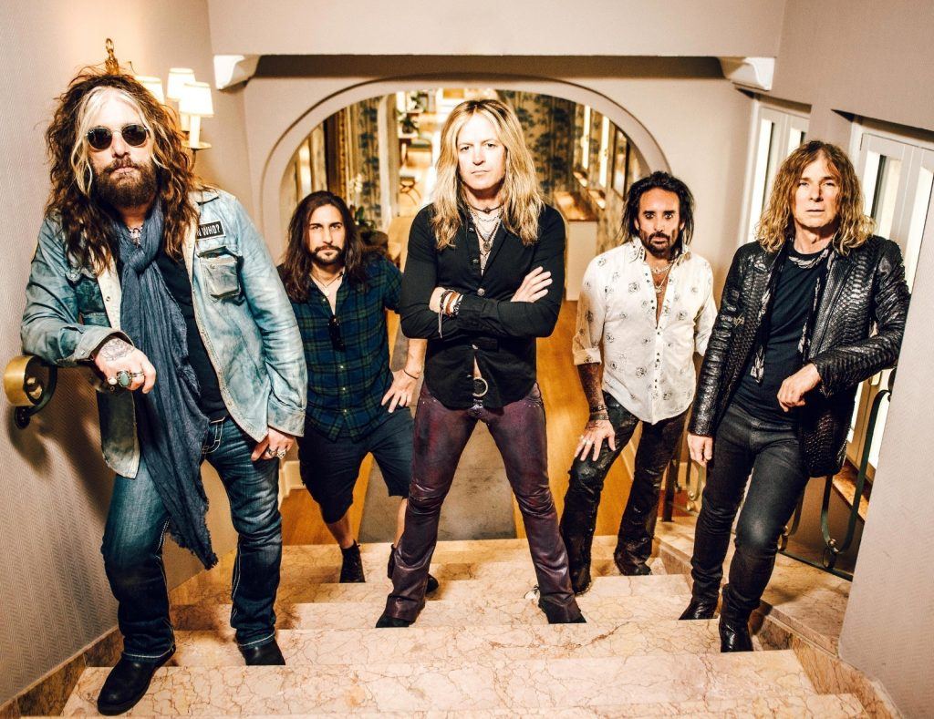 Official press image of the band. The Dead Daisies lineup for Make Some Noise includes a who's who of rock superstars. John Corabi, Brian Tichy, and Doug Aldrich are amongst those along for the ride.