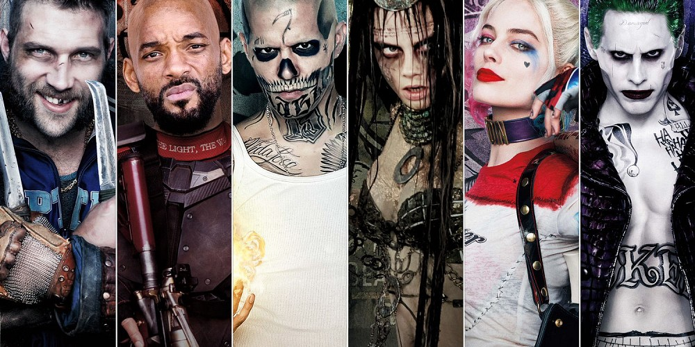 Suicide Squad's gallery of villains turned hero!