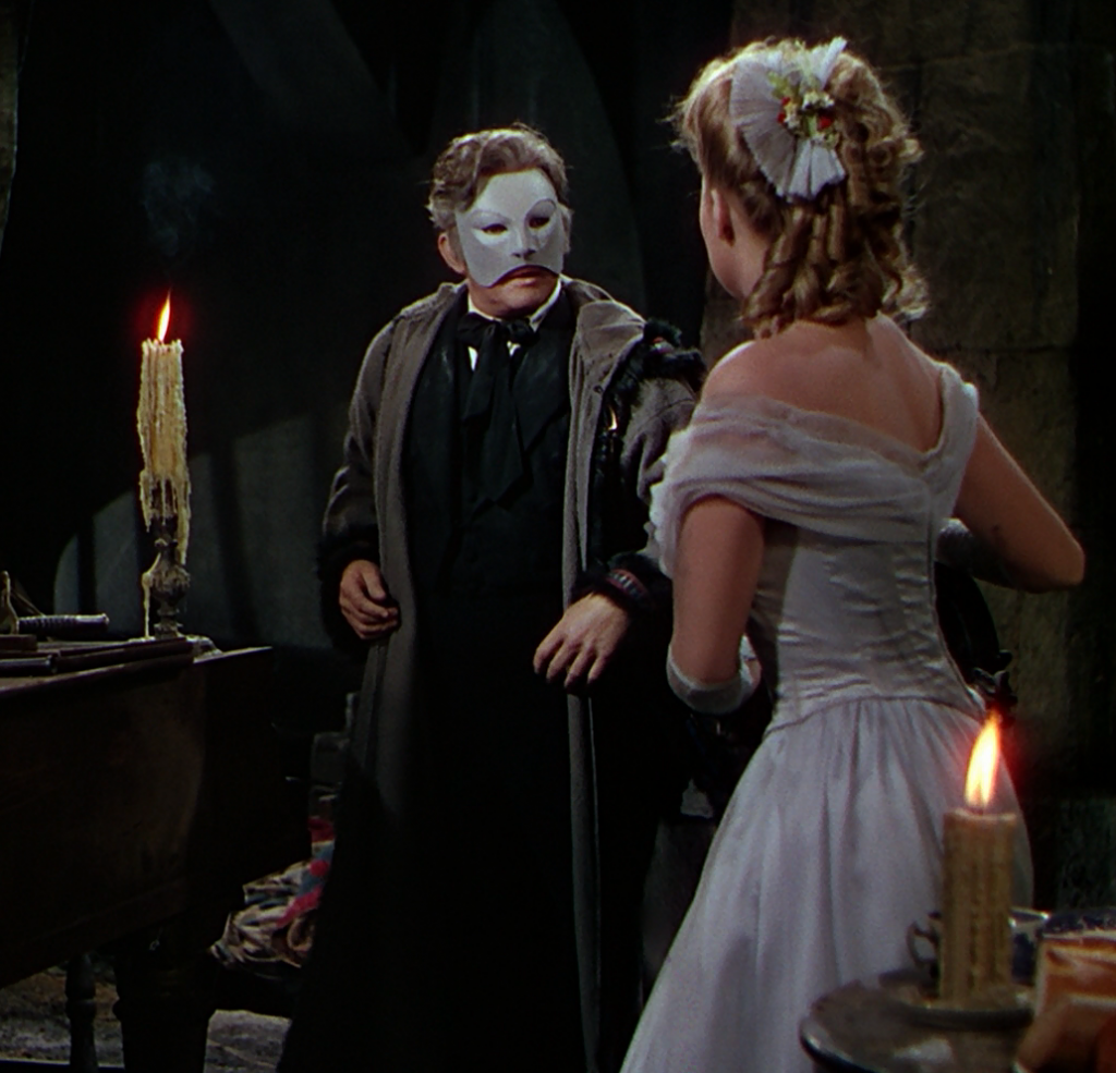 An encounter with Claude Rains' Phantom, from the 1943 film.