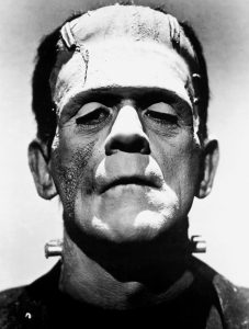 In these films, Boris Karloff became the most famous and well remembered incarnation of Frankenstein's Monster.