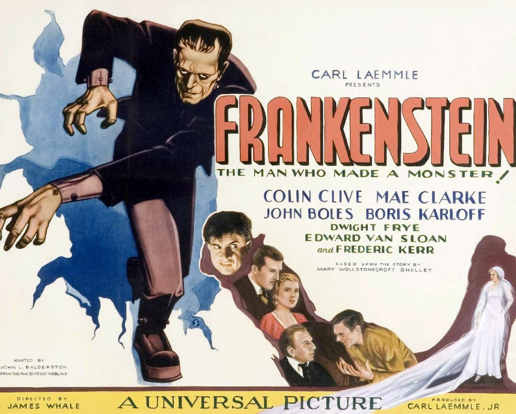 Frankenstein was the first film in Universal's classic Frankenstein franchise, based upon a stage play adapted from Mary Shelley's classic novel.