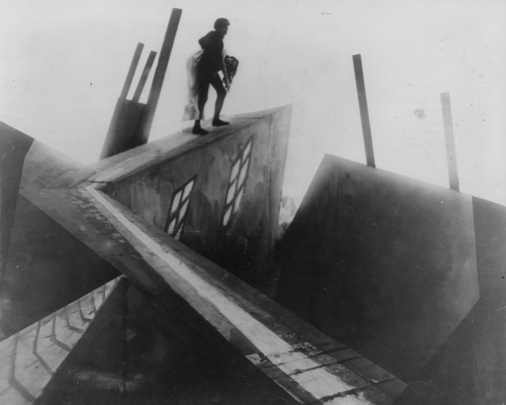 The Cabinet of Dr. Caligari has a unique look, largely due to its set designs.