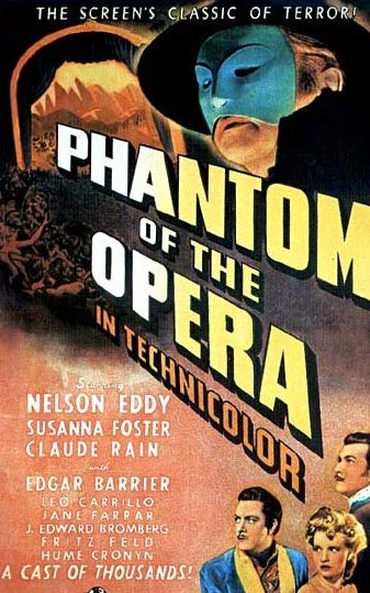 The 1943 version of the story starring Claude Rains as the title character is generally less remembered than its 1925 counterpart.