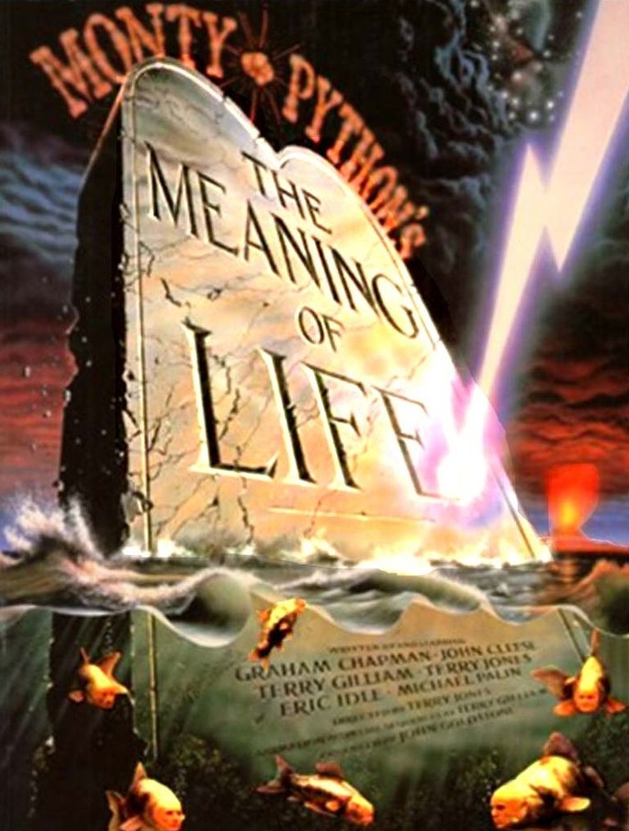 The Meaning of Life was the final feature film from Monty Python, returning to the sketch comedy routes of the Monty Python's Flying Circus television series.
