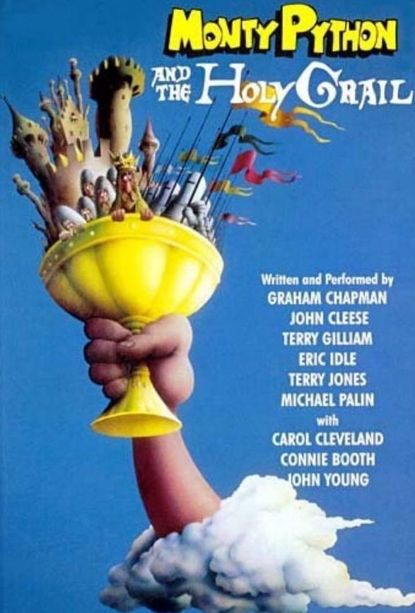 Released in 1975, Monty Python and the Holy Grail was the troupe's second feature film, and first big screen work of all original material.