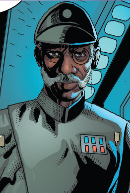 Inspector Thanoth is a character created for the comic series, who started appearing in the second arc.
