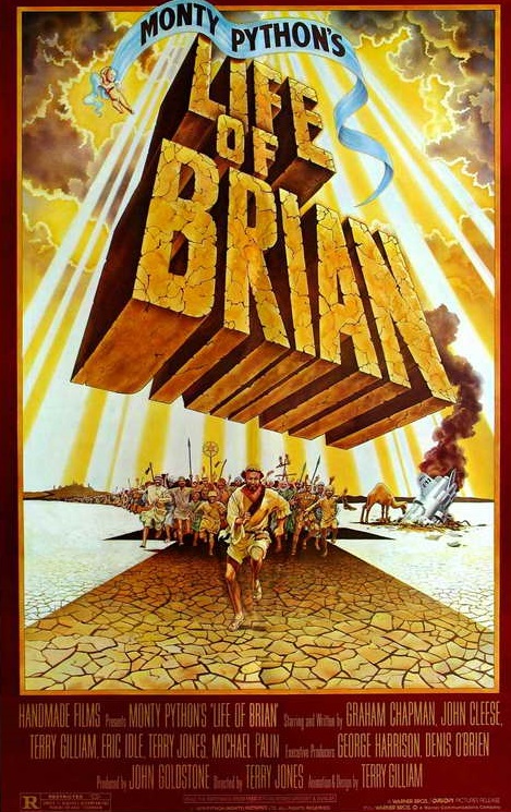 Life of Brian was released theatrically in 1979. Though very controversial with a number of audiences, it was a hit nonetheless, and features some of the Pythons' best material.