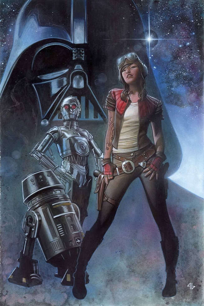 Doctor Aphra, introduced in issue 3, quickly became a fan favorite character.